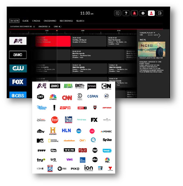 Unified Signal | TV Streaming - Private Label TV Streaming